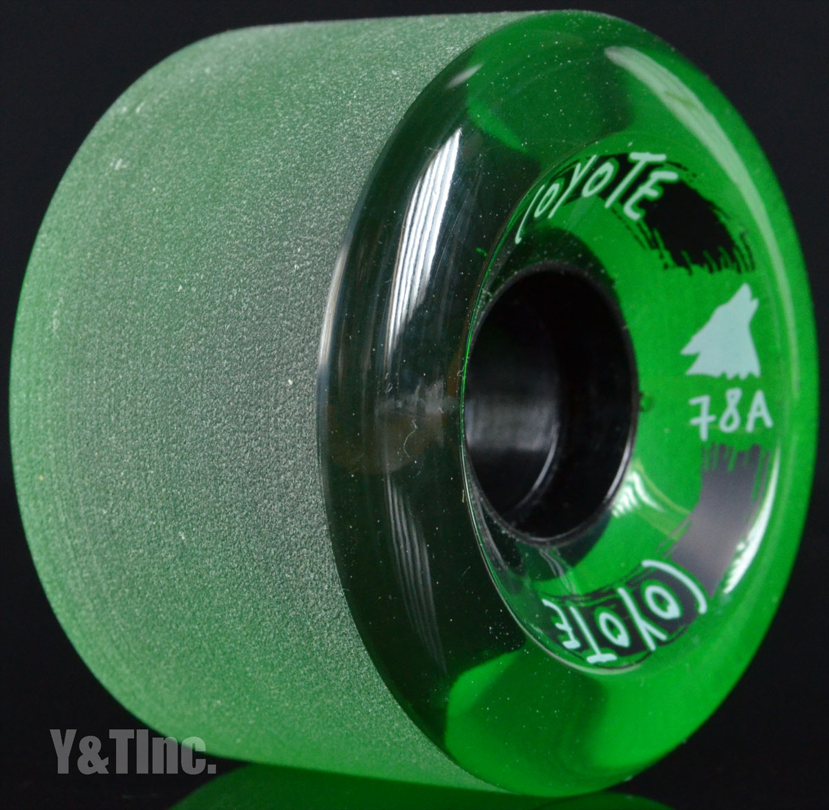 COYOTE 65mm 78a Trans Green 1