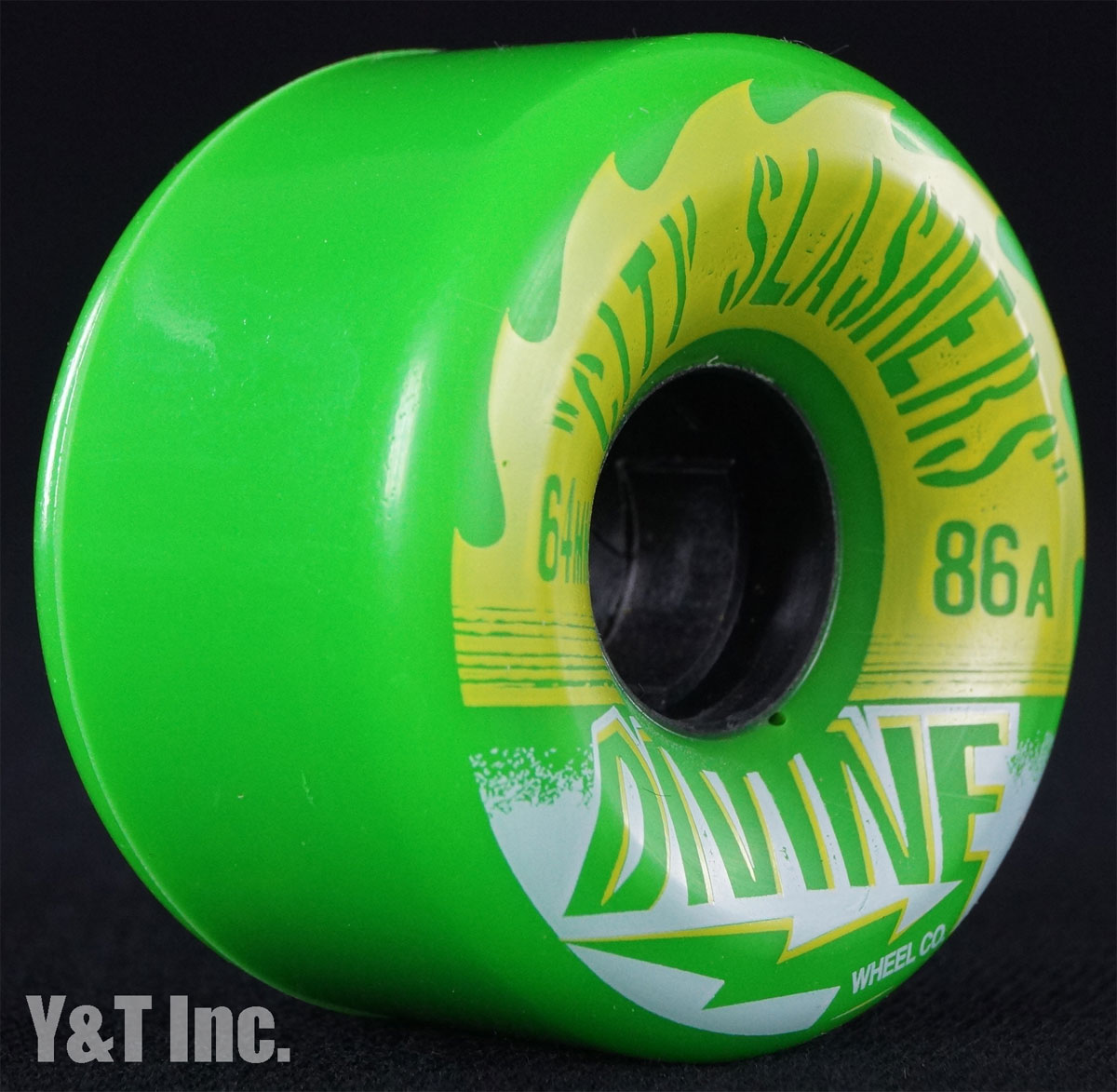 DIVINE CITY SLASHERS 64mm 86a GREEN 1