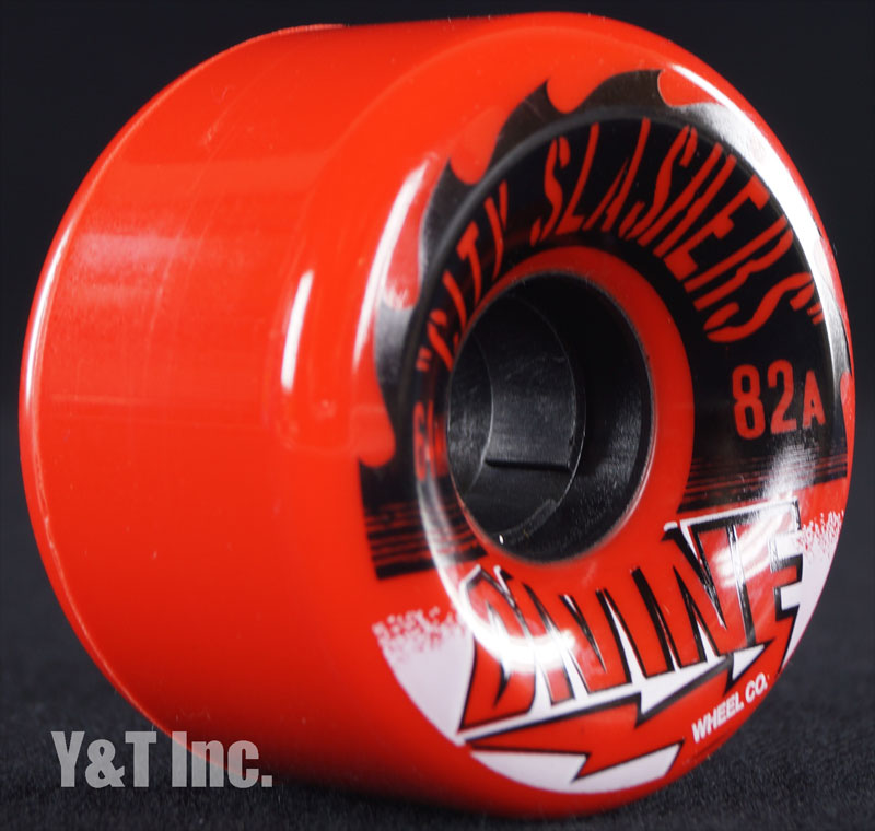 DIVINE CITY SLASHERS 64mm 82a RED 1