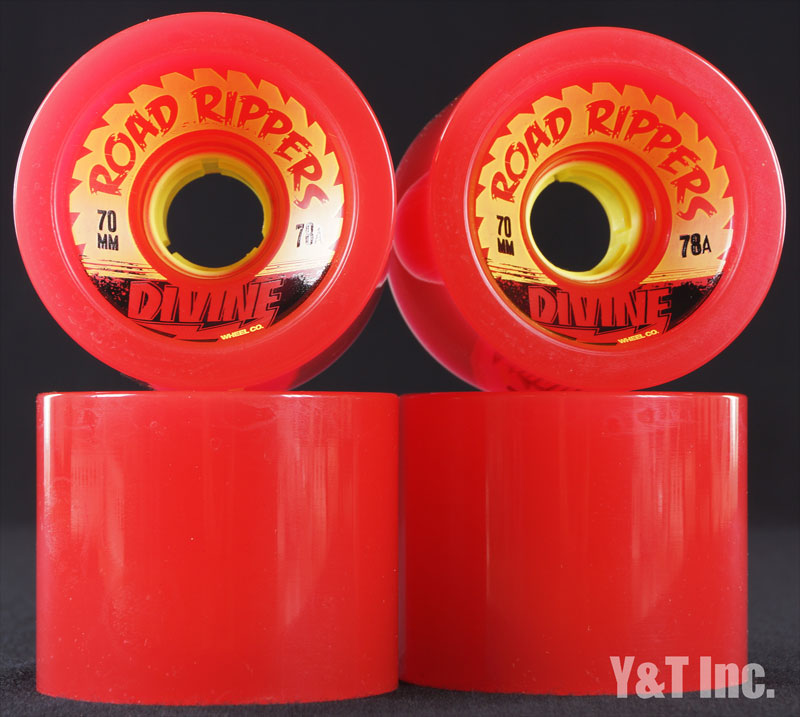 DIVINE ROAD RIPPER 70mm 78a RED 1