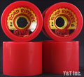 DIVINE ROAD RIPPER 70mm 82a RED