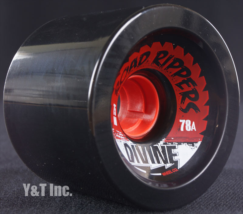 DIVINE ROAD RIPPER 75mm 78a BLACK 1