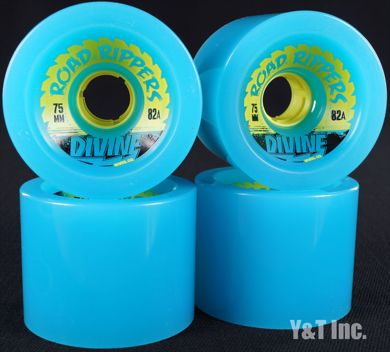 DIVINE ROAD RIPPER 75mm 82a CYAN 1