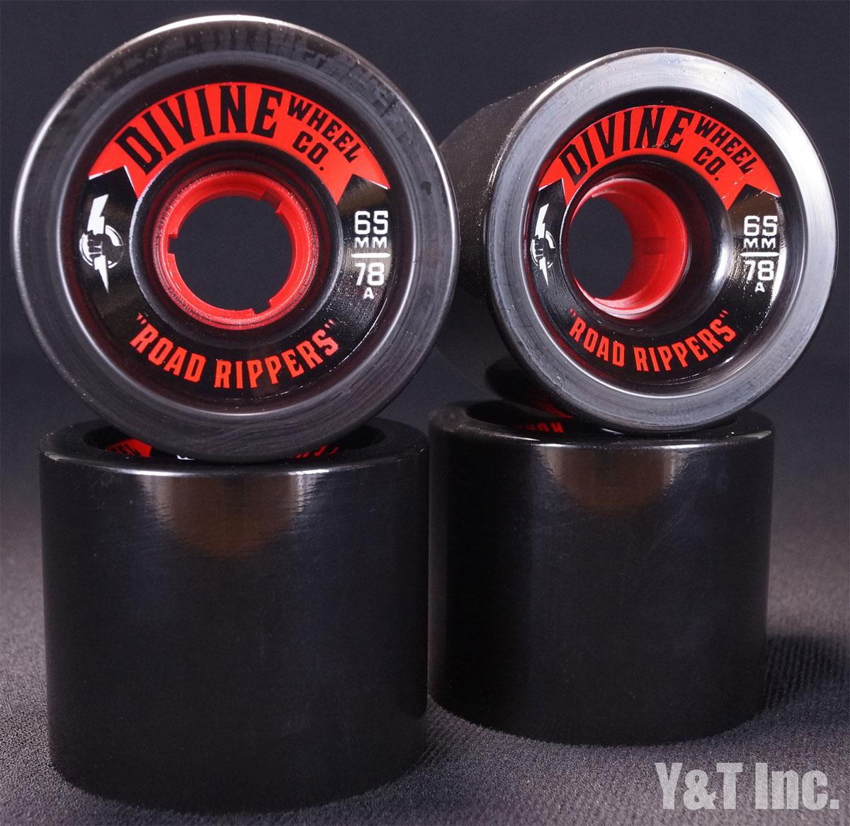 DIVINE ROAD RIPPER 65mm 78a BLACK 1