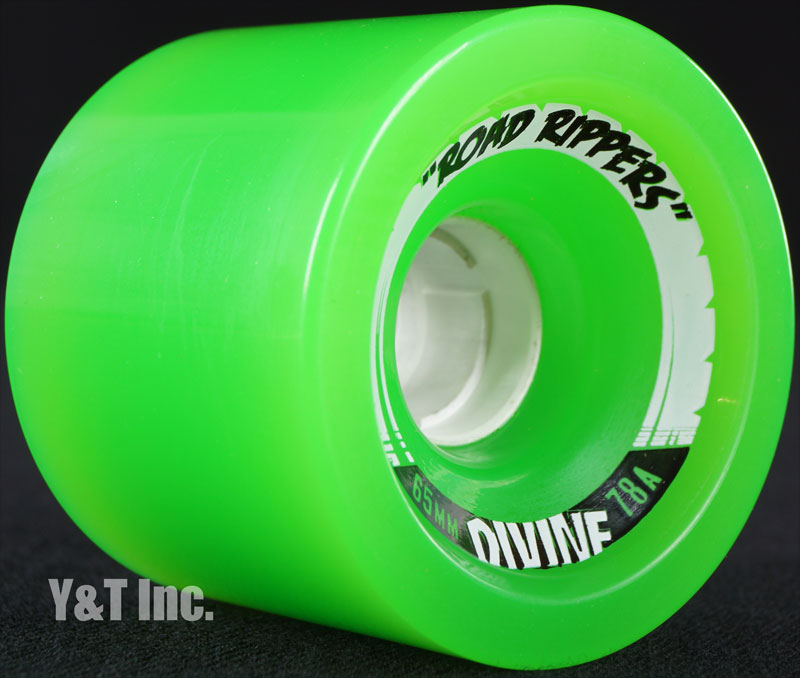 DIVINE ROAD RIPPER 65mm 78a GREEN 1