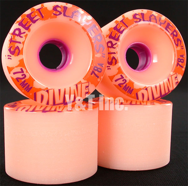 DIVINE STREET SLAYERS 72mm 78a PINK 1