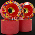 DIVINE STREET SLAYERS 72mm 78a RED