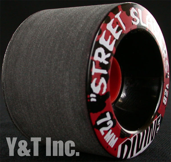 DIVINE STREET SLAYERS 72mm 82a BLACK 1