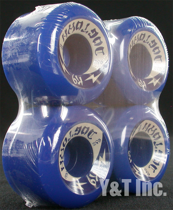 DOGTOWN K9 65mm 86a BLUE 1