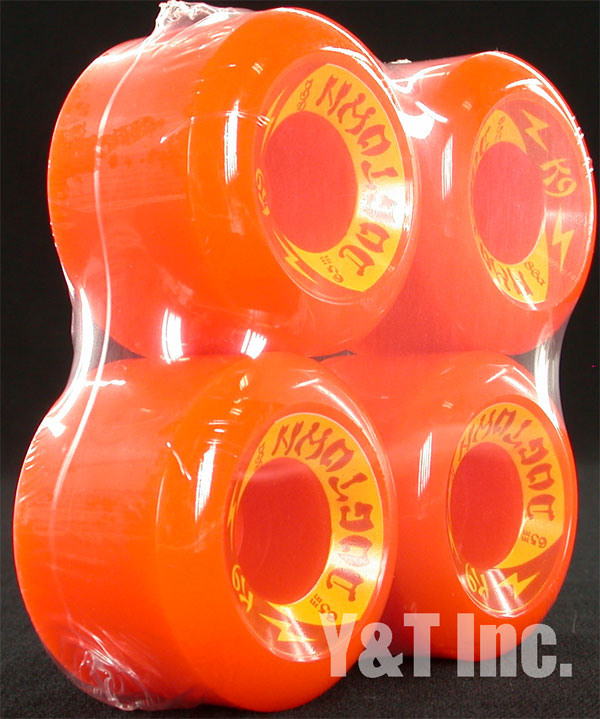 DOGTOWN K9 65mm 86a ORANGE 1