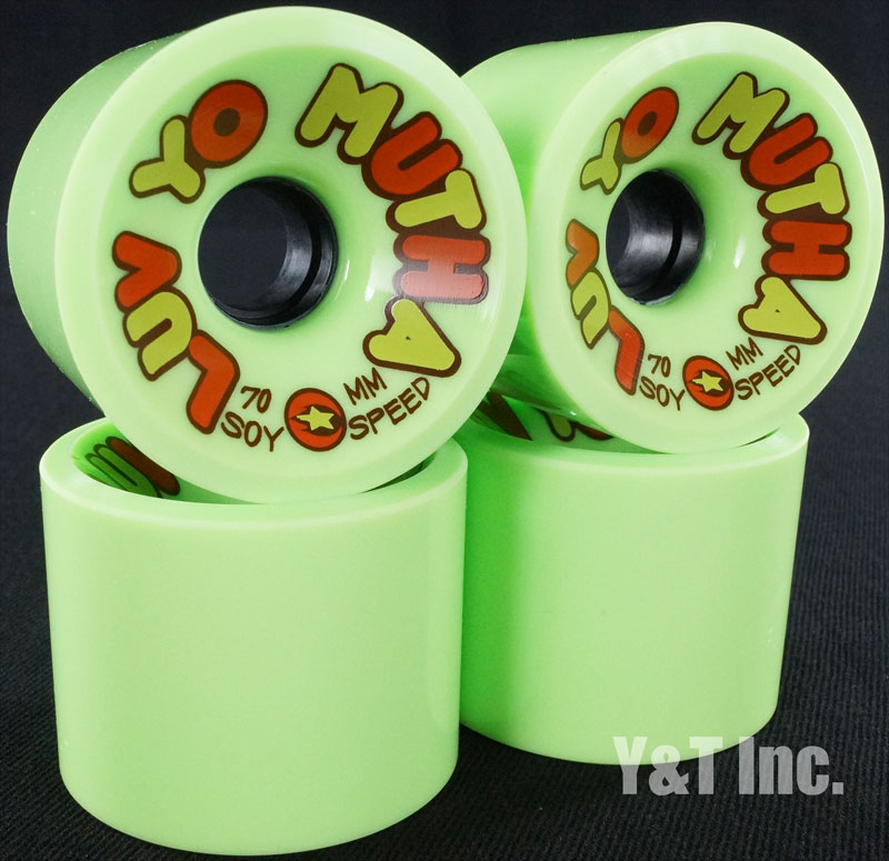 DREGS SOY LOV YO MUTHA 70mm 78a GREEN 1