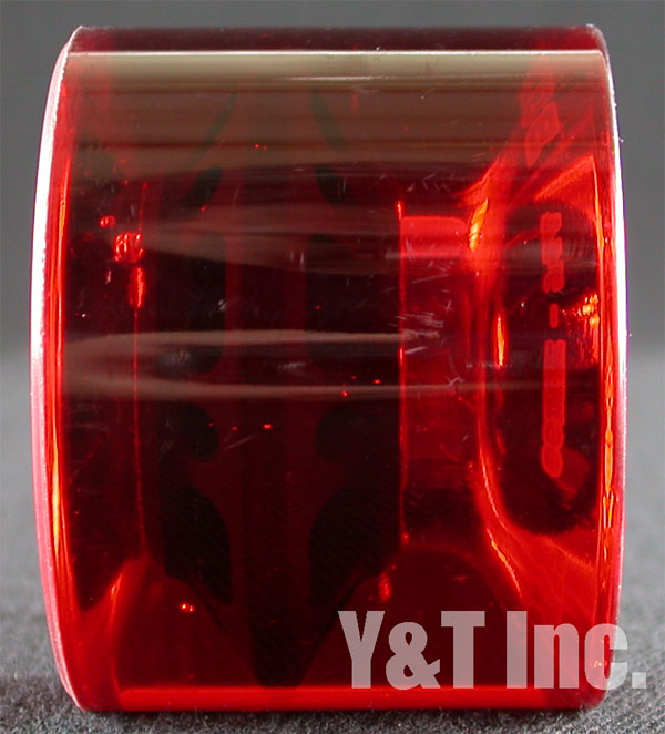 GRAVITY BURNER 66mm 74a CREAR RED 1