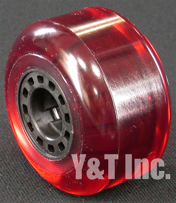 KRYPTONICS CLASSIC 76mm 80a CLEAR RED 3