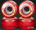 KRYPTONICS ROUTE 59mm CLEAR RED