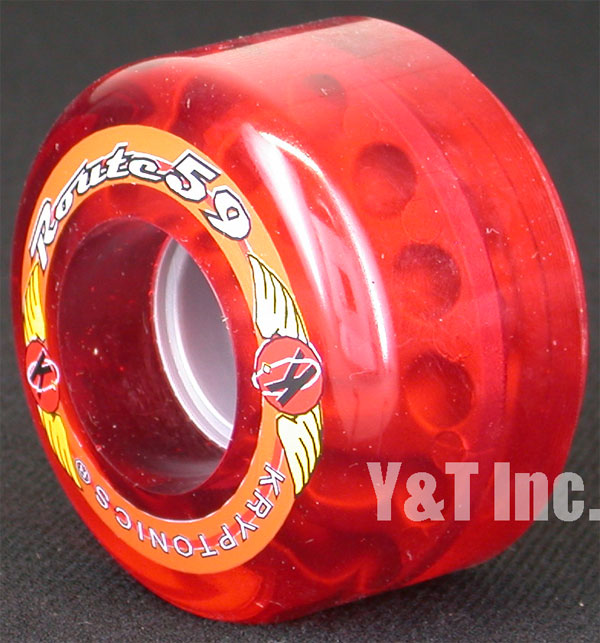KRYPTONICS ROUTE 59mm CLEAR RED 1