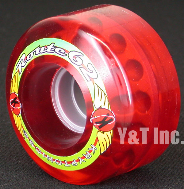 KRYPTONICS ROUTE 62mm CLEAR RED 1