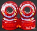 KRYPTONICS ROUTE 65mm CLEAR RED
