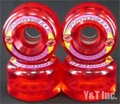 KRYPTONICS ROUTE 70mm CLEAR RED
