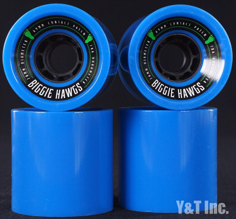 LANDYACHTZ BIGGIE HAWGS 70mm 78a Blue 1