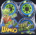 LANDYACHTZ HAWGS 2013 MINI ZOMBIE 70mm 78a Blue