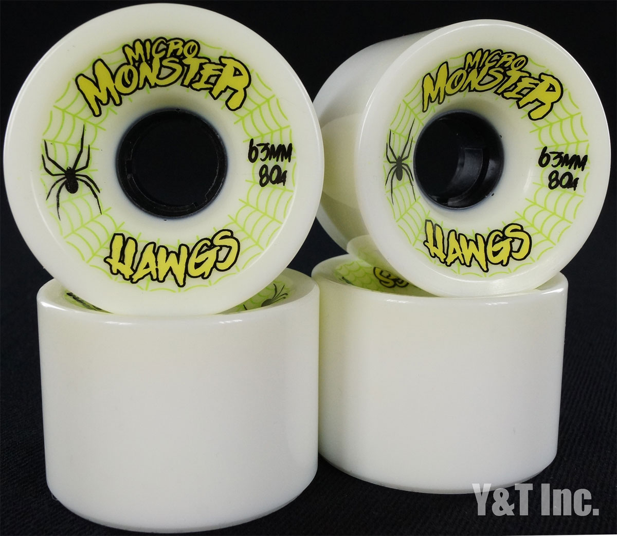 LANDYACHTZ HAWGS MICRO MONSTER 63mm 80a 1