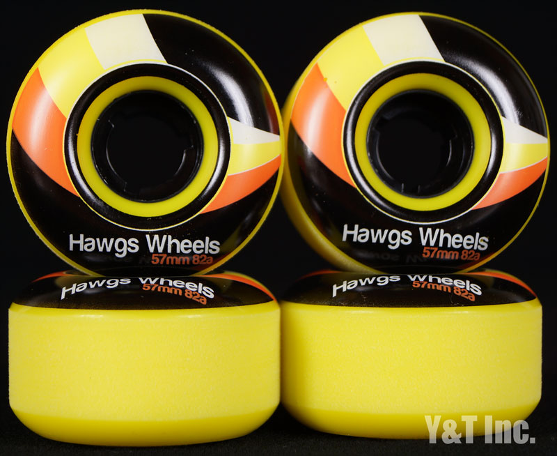 LANDYACHTZ STREET HAWGS 57mm 82a YELLOW 1