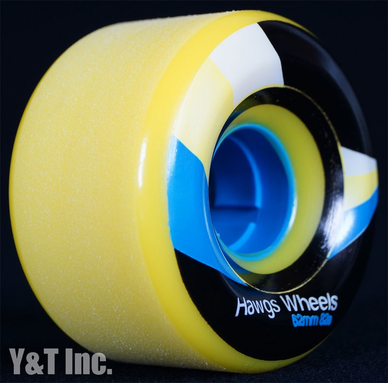 LANDYACHTZ STREET HAWGS 62mm 82a YELLOW 1