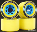 LANDYACHTZ HAWGS 2013 MINI ZOMBIE 70mm 82a Yellow