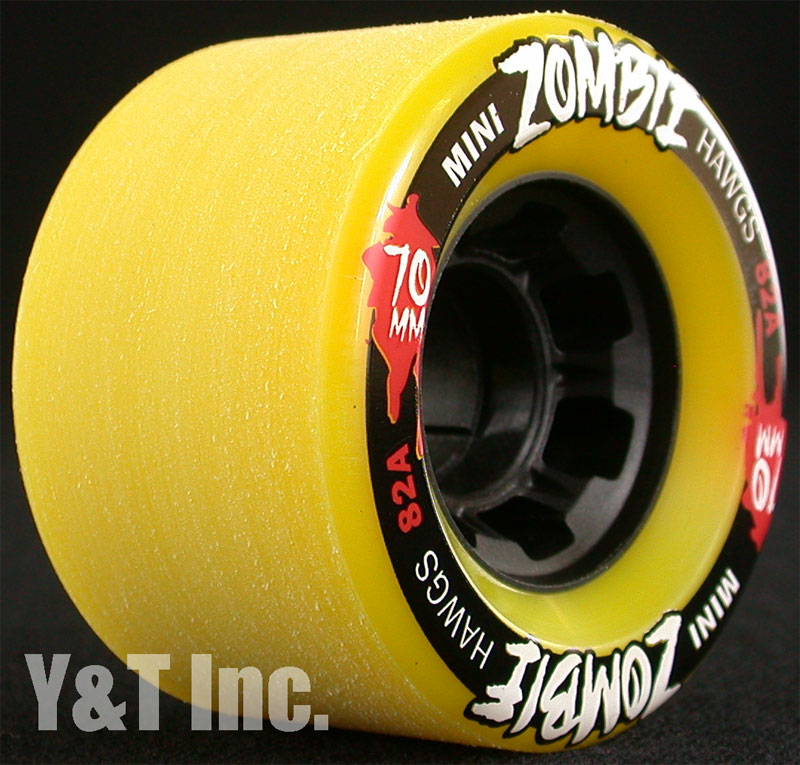 LANDYACHTZ HAWGS MINI ZOMBIE 70mm 82a 1