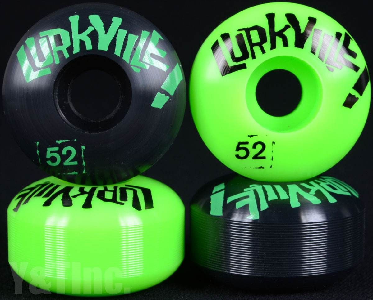 LURKVILLE 52mm 101a BLACK GREEN 1