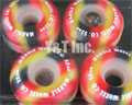 MARBLE WHEEL CANDY CORN 52mm 99a