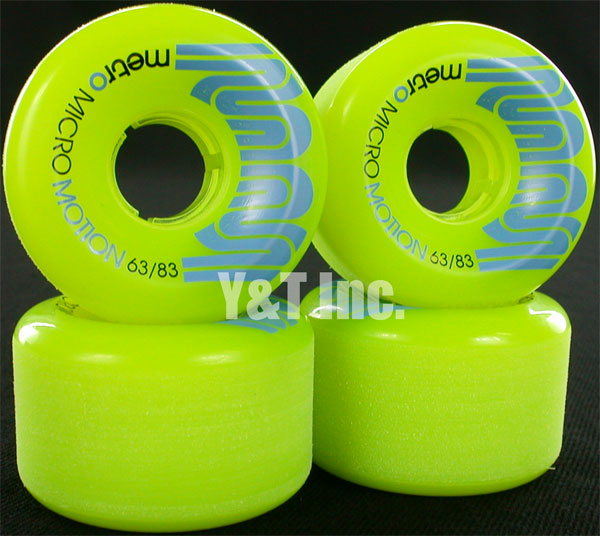 METRO MICRO MOTION 63mm 83a LIMEGREEN 1