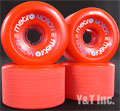METRO MOTION 70mm 80a Red