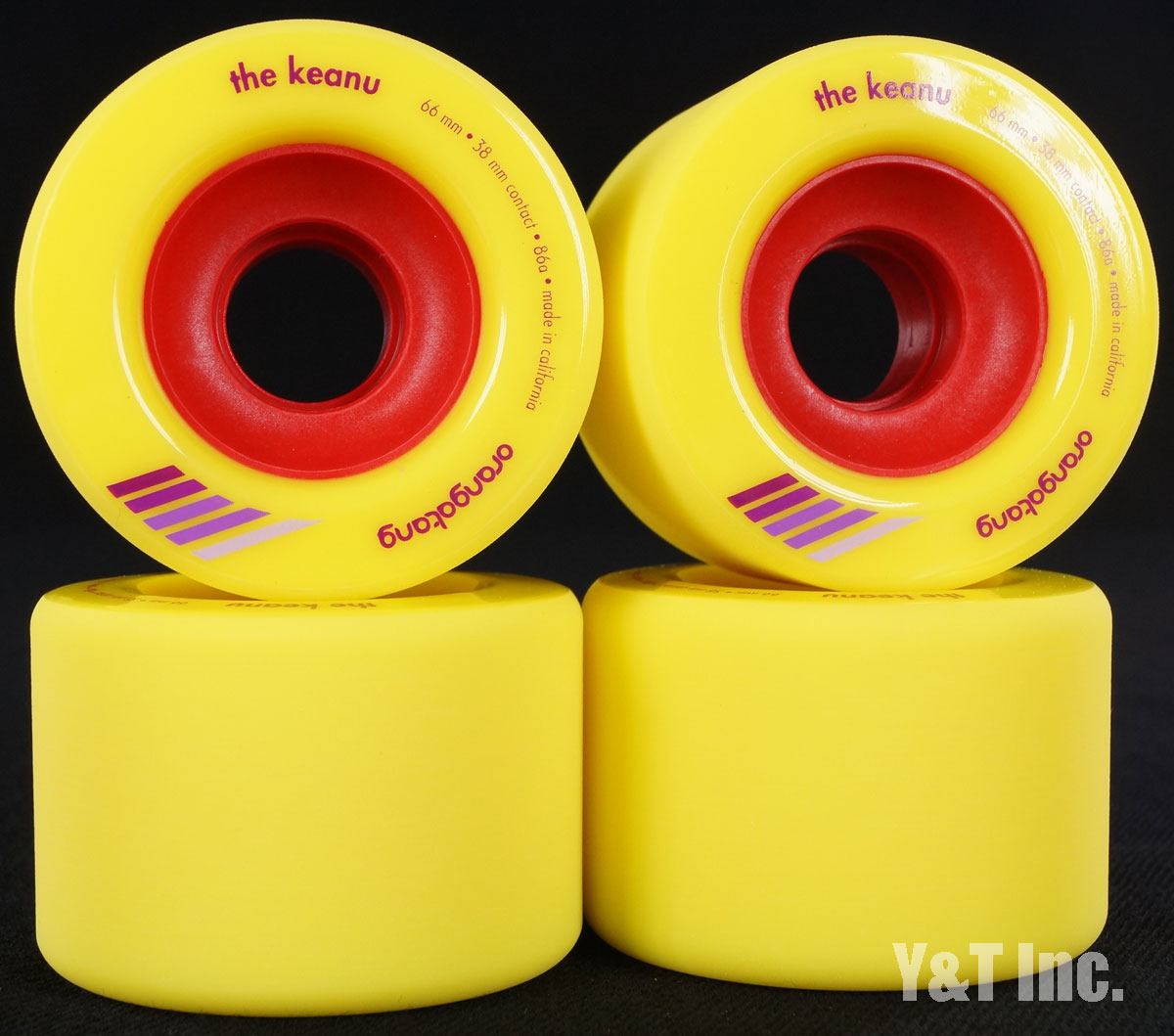 ORANGATANG KEANU 66mm 86a YELLOW 1
