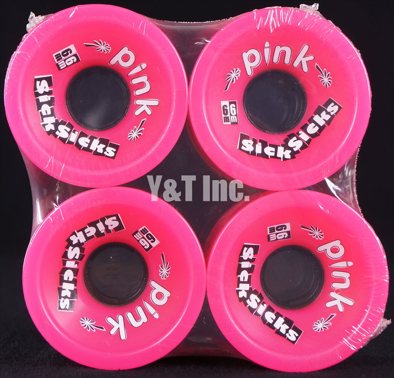 PINK Sick Sicks 66mm 78a Pink 1