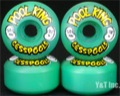 POOL KING 58mm 98a GREEN