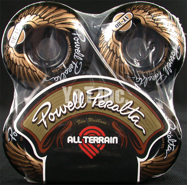 POWELL ALL TERRAIN 60mm 80a BLACK 1