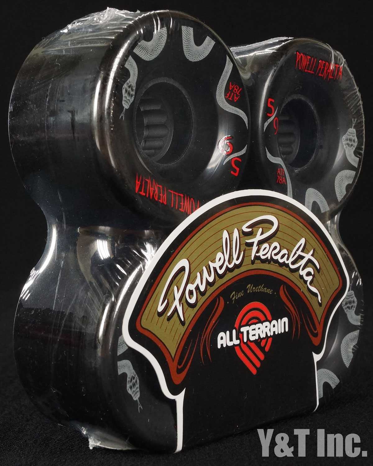 POWELL ALL TERRAIN 59mm 78a Black 2