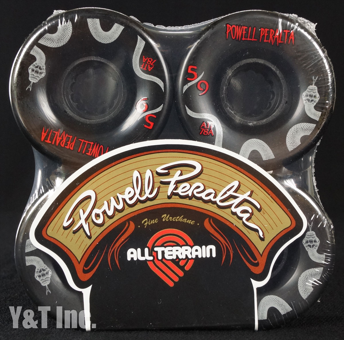 POWELL ALL TERRAIN 59mm 78a Black 1
