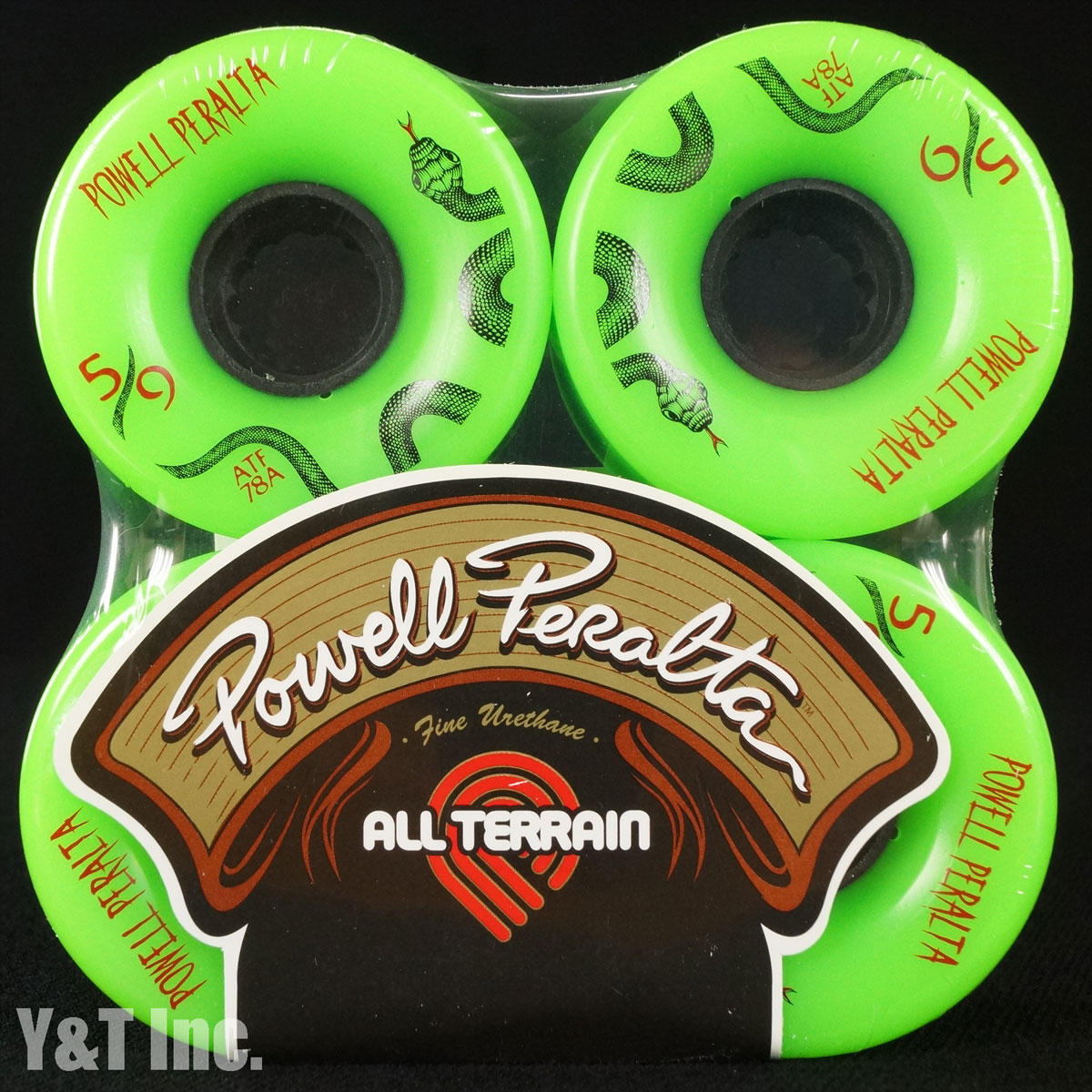 POWELL ALL TERRAIN 59mm 78a Green 1
