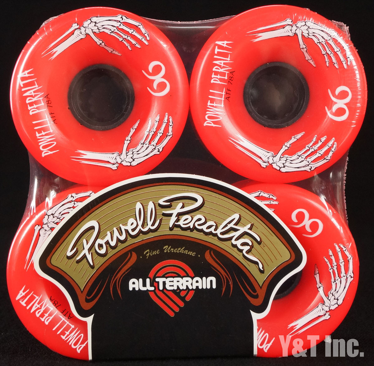 POWELL ALL TERRAIN 66mm 78a Red 1