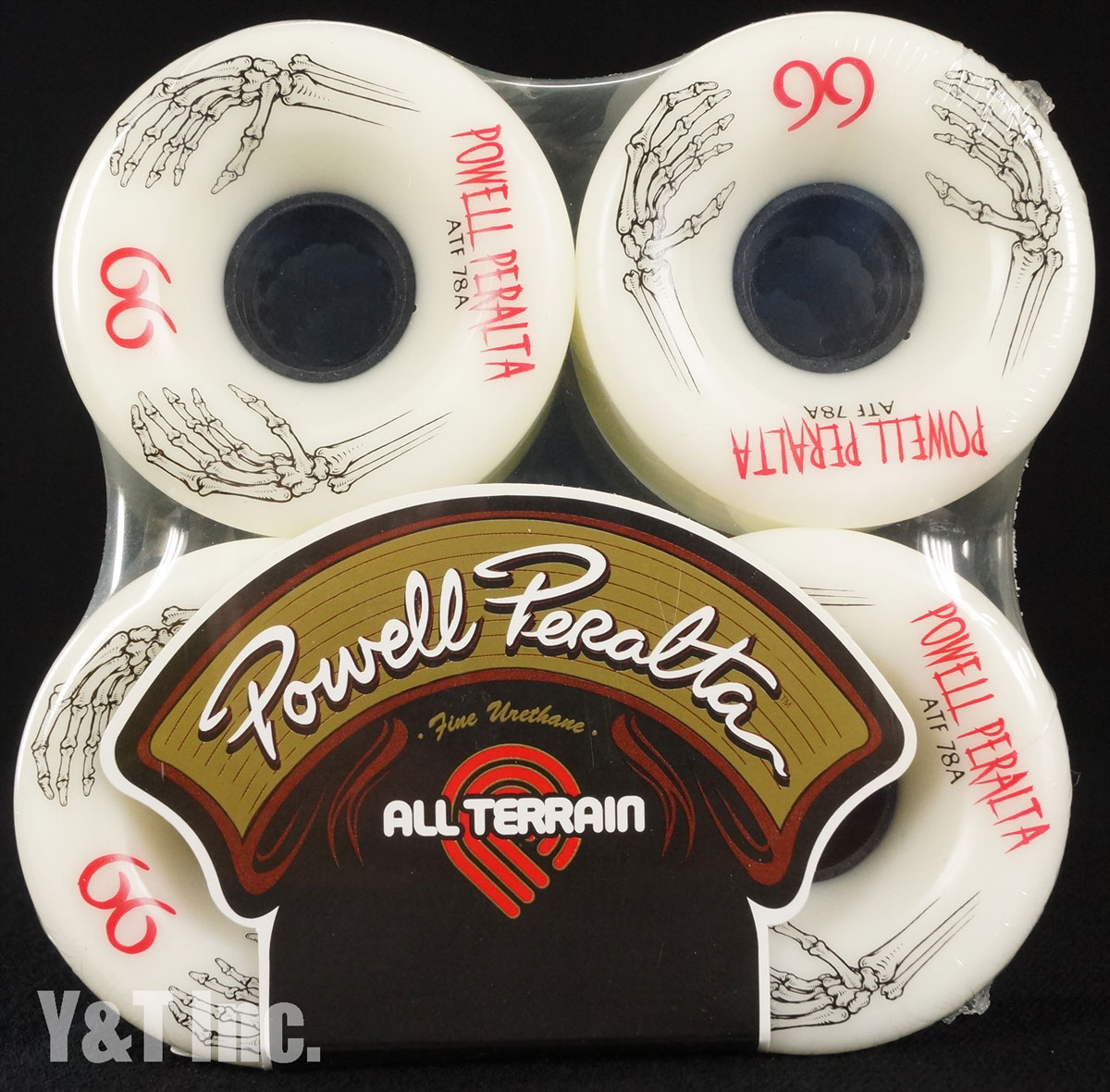 POWELL ALL TERRAIN 66mm 78a White 1