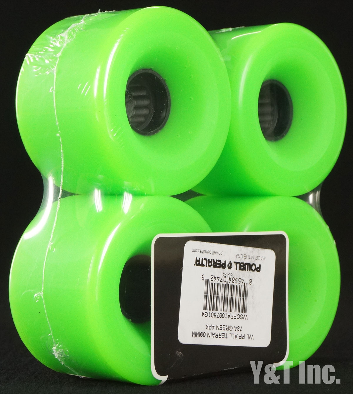 POWELL ALL TERRAIN 69mm 78a Green 1