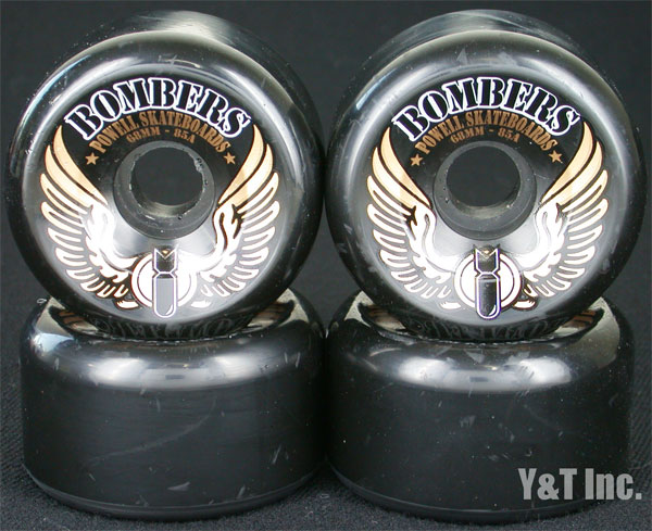 POWELL BOMBER 68mm 85a BLACK 1