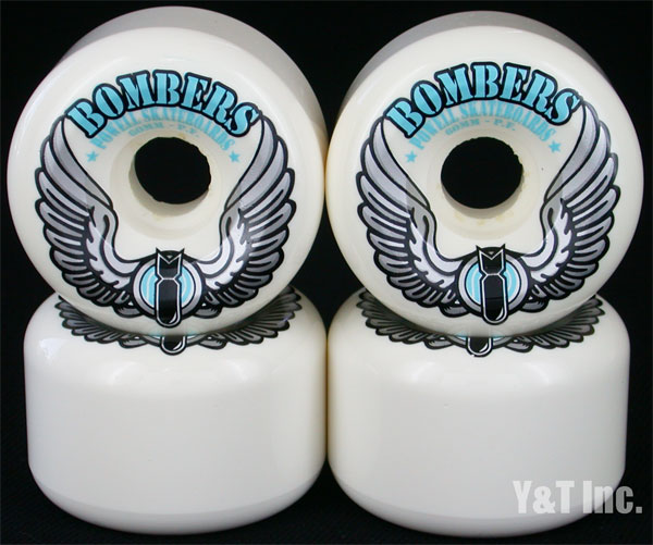 POWELL BOMBER 60mm 101a WHITE 1