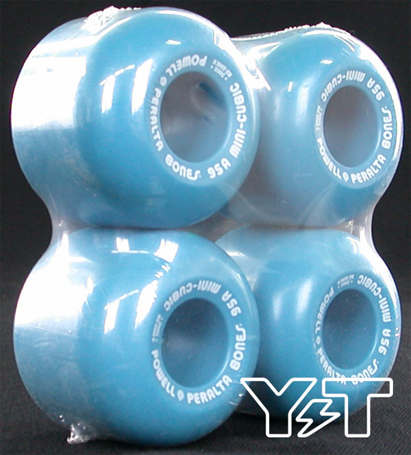 POWELL PERALTA MINI CUBIC 64mm 95a BLUE 2