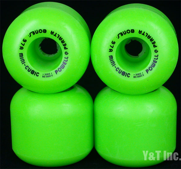 POWELL PERALTA MINI CUBIC 64mm 95a GREEN 1
