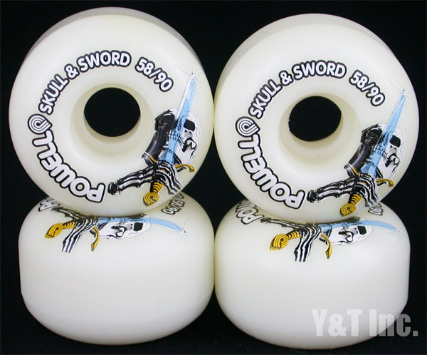 POWELL SKULL SWORD 58mm 90a 1