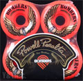 POWELL BOMBER 60mm 85a RED