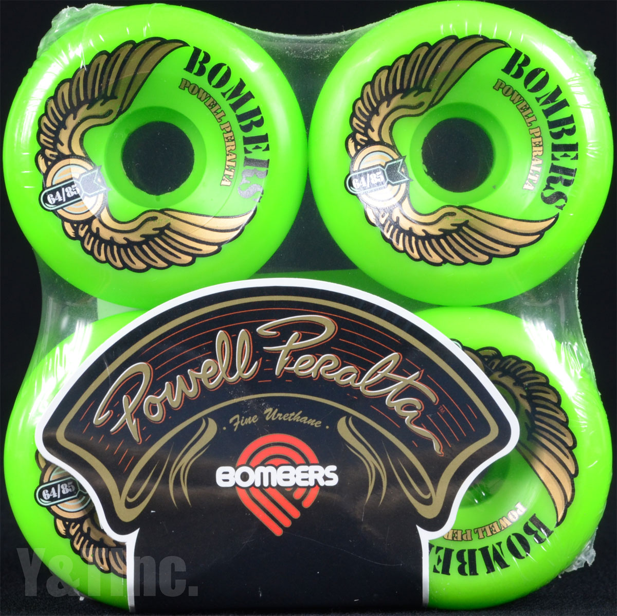 POWELL BOMBER 64mm 85a GREEN 1